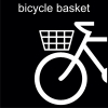 bicycle basket Pictogram