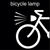 bicycle lamp Pictogram