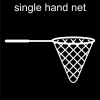 single hand net Pictogram