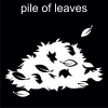 pile of leaves Pictogram