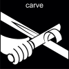 carve Pictogram