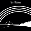rainbow Pictogram