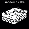 sandwich cake Pictogram