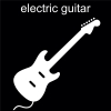 electric guitar Pictogram