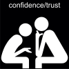 confidence/trust Pictogram