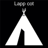 Lapp cot Pictogram