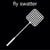 fly swatter Pictogram