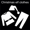 Christmas elf clothes Pictogram