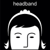 headband Pictogram