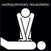cardiopulmonary resuscitation Pictogram