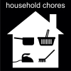 household chores Pictogram