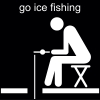 go ice fishing Pictogram