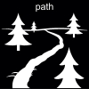 path Pictogram