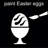 paint Easter eggs Pictogram