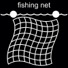 fishing net Pictogram