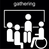 gathering Pictogram