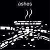 ashes Pictogram
