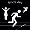 sports day Pictogram