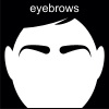 eyebrows Pictogram
