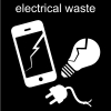 electrical waste Pictogram