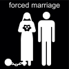forced marriage Pictogram