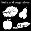fruits and vegetables Pictogram