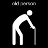 old person Pictogram