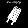 ice lollipop Pictogram