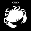 crab Pictogram