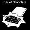 bar of chocolate Pictogram
