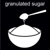 granulated sugar Pictogram