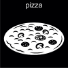pizza Pictogram