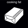 cooking fat Pictogram