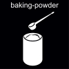baking-powder Pictogram