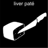 liver paté Pictogram