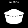 muffins Pictogram