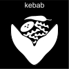 kebab Pictogram