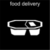 food delivery Pictogram