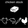 chicken stock Pictogram