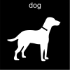 dog Pictogram