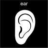 ear Pictogram