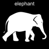 elephant Pictogram