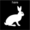 hare Pictogram