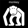 monkey Pictogram