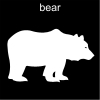 bear Pictogram