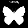 butterfly Pictogram