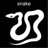 snake Pictogram