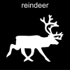 reindeer Pictogram