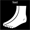 feet Pictogram