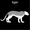 tiger Pictogram